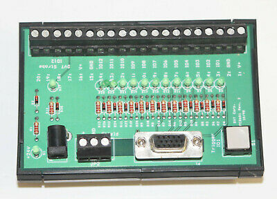DIN Rail Mounting 15-Pin D-Sub Connection DVT Isolated BOB Breakout Board