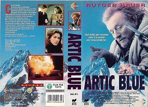 ARTIC BLUE (1995) vhs ex noleggio - Italia - L'oggetto può essere restituito - Italia