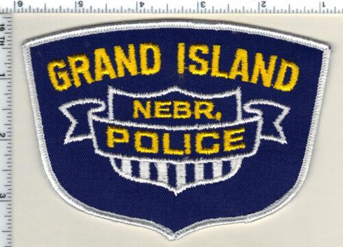 Grand Island Police (Nebraska)  Shoulder Patch  - new from 1989