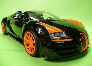 rc bugatti veyron grand sport mit licht 31cm ferngesteuert 2 4ghz 404548 ebay. Black Bedroom Furniture Sets. Home Design Ideas