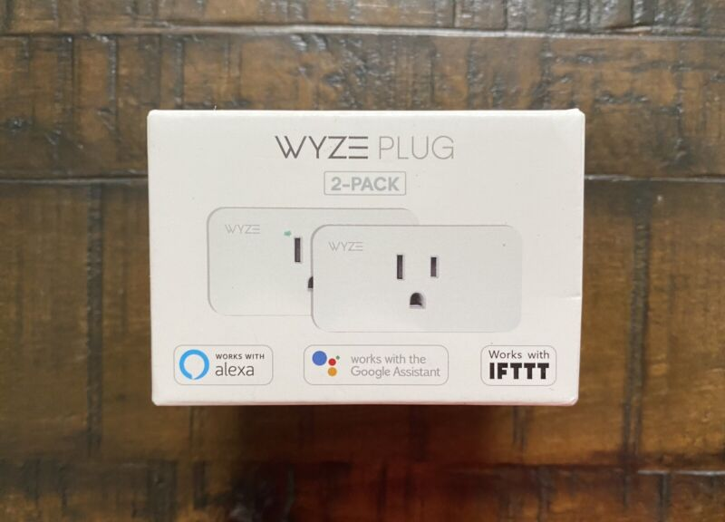 New WYZE Home WiFi Smart Plug 2 Pack