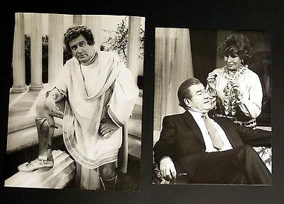 Hans Joachim KULENKAMPFF * 2 PRESSEFOTOS 16,5x21,5cm PHOTOS 1981/´82 TV KULT