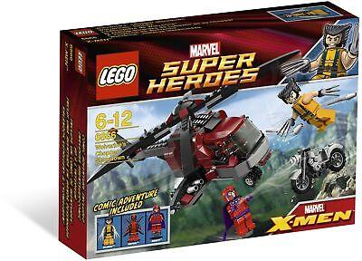 Brand New Lego Marvel Super Heroes 6866 Wolverine's Chopper Showdown Deadpool!