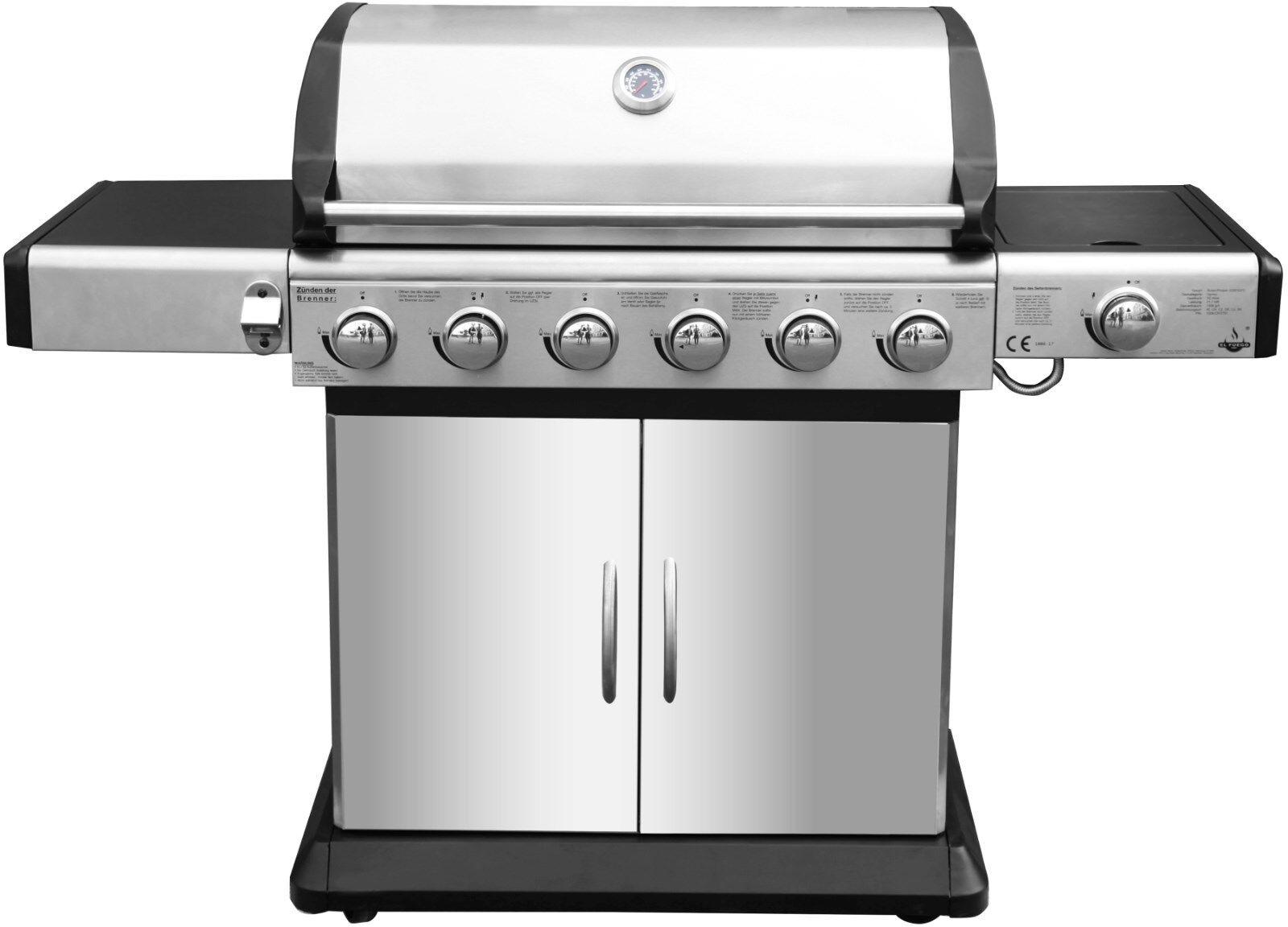Landmann Gasgrill Neu : Gasgrill bbq brenner grillwagen barbecuegrill