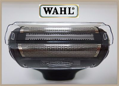 NEW Wahl Body Groomer #95028 Shaver Dual Foil Head + Cover Lithium Ion 9884 9818