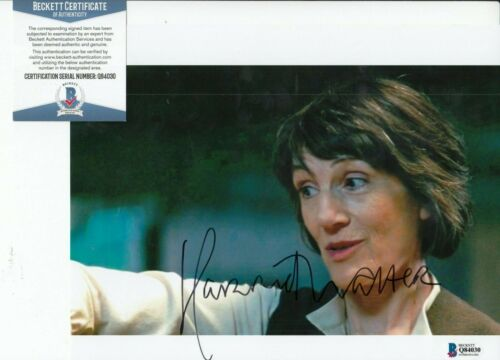 HARRIET WALTER signed (STAR WARS THE FORCE AWAKENS) 8X10 photo BAS BECKETT #3