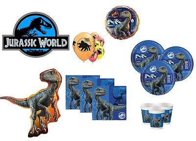 BIRTHDAY PARTY SUPPLIES TABLEWARE  (Jurassic Park Party Supplies)