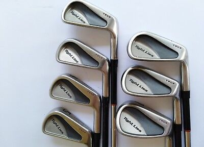 Set of 7 Adams Tight Lies Irons Tour Edition 4-9 + P · GT Stiff Steel Shafts  RH for sale  Shipping to Canada