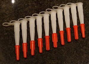 50 mal Silikonspitzen Kartuschenspitzen geschraubter Verschluss
