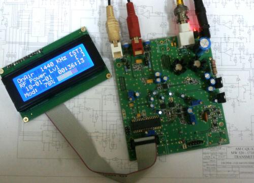 C-QUAM Stereo AM Transmitter ASMAX2 FREE SHIPPING