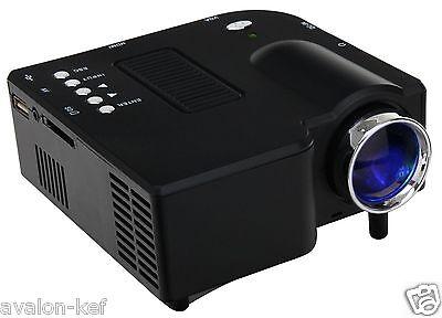 Mini Projecteur Led Lcd 20K+ 200 Cm A/V,Usb,Hd,48 Lumens,Silencieux,HDMI,SD,DD