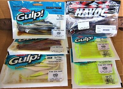 """Saltwater Assassin Sea Shad 6/"""" 4ct Swim Shads FREE SHIPPING WITHIN US"""