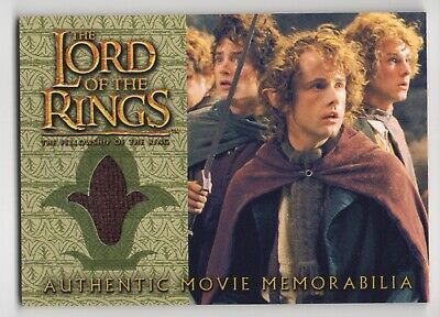 LOTR Memorabilia Pippin's Travel Cloak from The Fellowship of the Ring, NM (Pippin Costume)