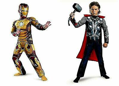 Boys' Halloween Costumes Avengers Thor Ironman  Includes Wrist Communicator  NWT](Teen Thor Costume)