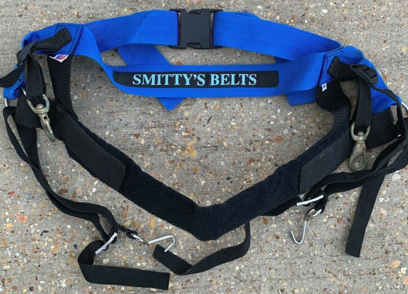 Smitty's Spyder Harness Big Game Offshore USA Smitty's Belts Size Medium