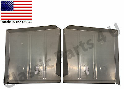 1955 1956 Ford Mercury Front Floor Pans     New Pair     Free Shipping