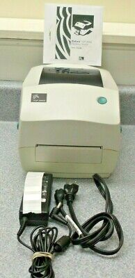 Zebra TLP3842 Label Thermal Printer Power Supply Ribbon Labels Manual on -