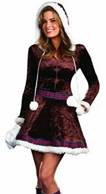 Naughty Girl Sexy Flirty Halloween Dress Up Costume Eskimo Kisses Size Medium