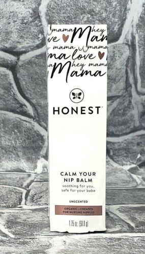 Honest Calm Your Nip Balm Organic For Nursing Nipples - NEW! SEALED! SHIPS FREE!