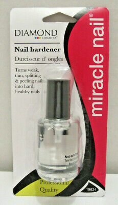 Diamondback MIRACLE NAIL Clear Coat Hardener Strengthener Treatment Polish Clear Nail Polish