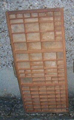 Vintage Wooden Printers Typeset Drawer Tray Choose One From Pictures