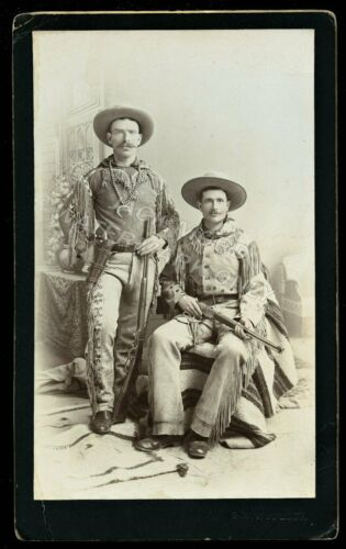 Arizona Indian Scouts by Important American West Photographer George B. Wittick