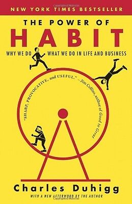 The Power of Habit by Charles Duhigg, Paperback, 2014, New, Free Shipping on Rummage