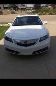 Lady driven Acura TL 2012