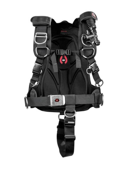 Hollis HTSII Harness Technical System BC Harness for Technical Scuba