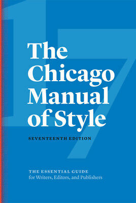 The Chicago Manual of Style, 17th Edition [[ P D F ]]