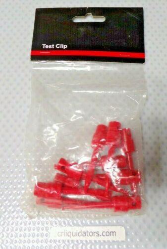 Mini Hook Clip, Hand Held Voltage 30VAC/60VDC, 5, PK 10 (CM)