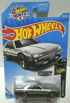 2019 Hot Wheels Nightburnerz Nissan Skyline RS (KDR30) 48 Zamac