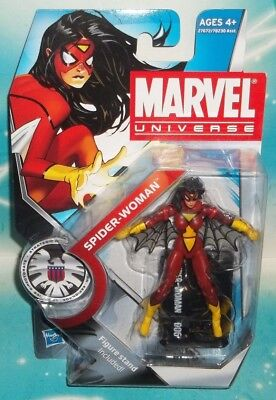 MARVEL UNIVERSE CLASSICS SERIES #006 HYDRA AGENT SPIDER-WOMAN FIGURE HASBRO