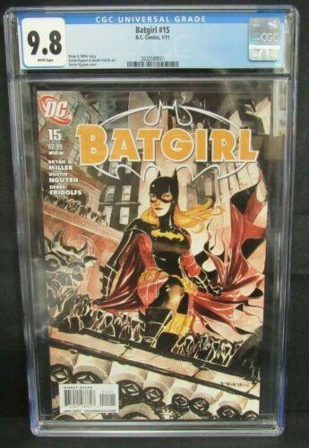 Batgirl #15 (2011) Dustin Nguyen Cover CGC 9.8 Z087