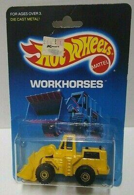 1986 Hot Wheels Workhorses Cat Wheel Loader #1173 HTF