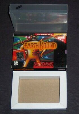 "EarthBound ""For Display Only"" Small Box + Cardboard Insert & Protector (NO GAME) for sale  Shipping to Canada"
