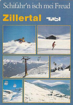 Zillertal Wintersportgebiet Spieljochbahn Gerlos Hintertux Skifahrer Schi Penken online kaufen