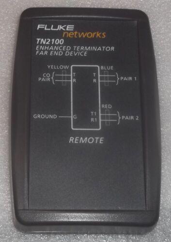 FLUKE NETWORKS  TN2100 ENHANCED TERMINATOR FAR END DEVICE POTS ADSL