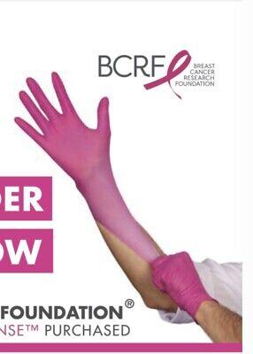 1000 Pink Bca Nitrile Gloves Case Thinsense Medium 4250 - Free Shipping Usa