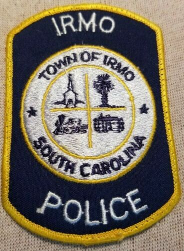 SC Irmo South Carolina Police Patch