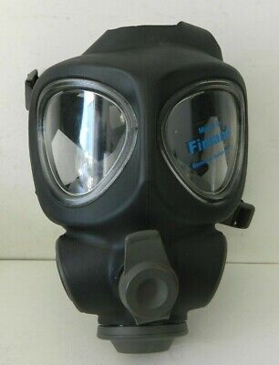 Scott Full Face Respirator Nbc Gas Mask Prepper Military Police Fire Regular