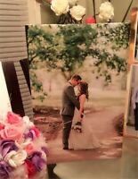 wedding picture Canvass with Mounting Frame