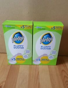 Pledge Fluffy Dusters Refill 5 Pack X 2 Free Uk Postage Manufacture 2016