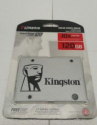 """Kingston 120GB SSDNow UV400 SATA III 2.5"""" Internal SSD"""