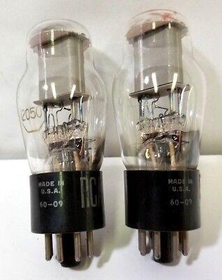 Lot Of 2 Rca 2050 Radiotron Electron Tube
