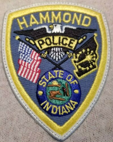 IN Hammond Indiana Police Patch