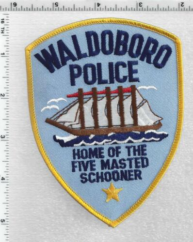 Waldoboro Police (Maine) 3rd Issue Shoulder Patch