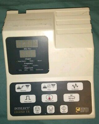 Chattanooga Int001 Intelect Legend Dual Frequency Clinical Ultrasound System