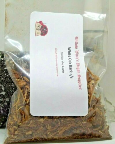 White Oak Bark c/s 1 ounce Wicca Hoodoo Voodoo Santeria Pagan Witchcraft Vodou