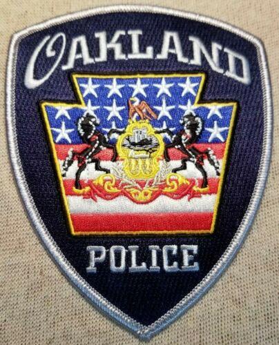 PA Oakland Pennsylvania Police Patch
